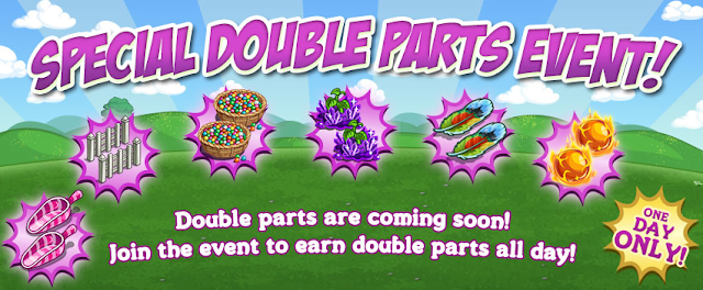 Farmville Double Parts Event