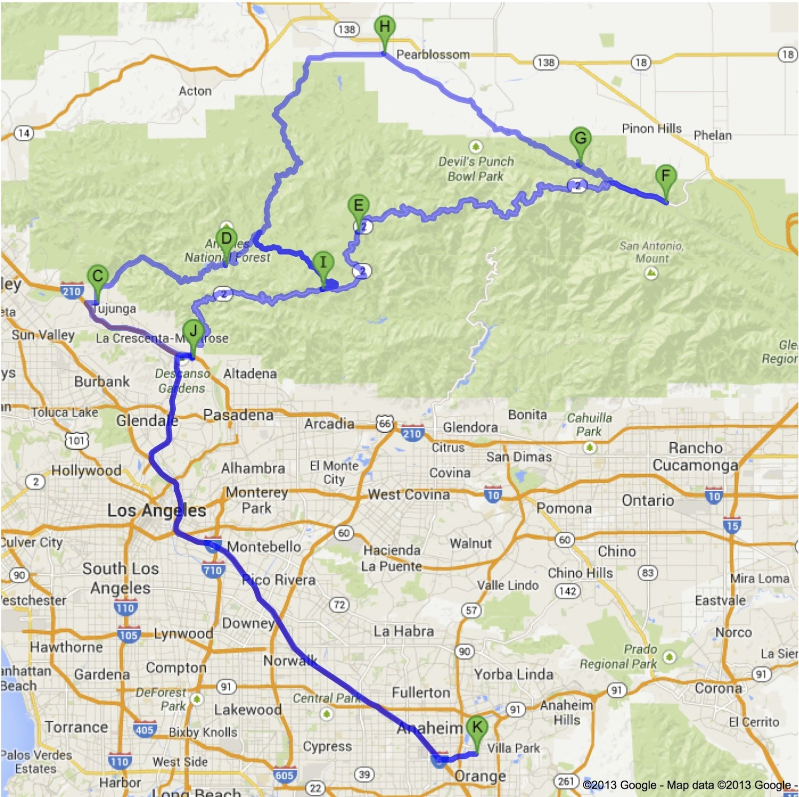 irv seaver bmw destinations ca 2 the mighty angeles crest highway