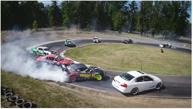 car race drift