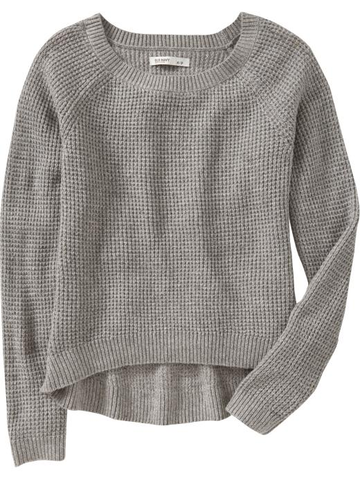 Fallon Confidential: Cheap & Chic: Old Navy Waffle-Knit Sweater ...