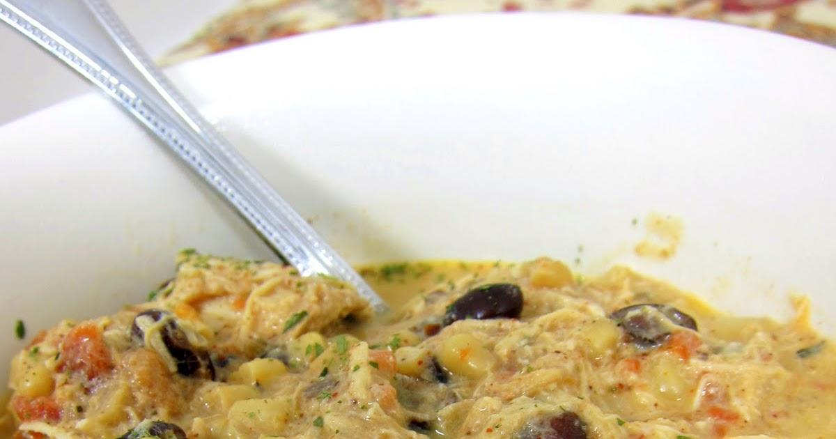 Yummy recipezz slow cooker cream cheese chicken chili