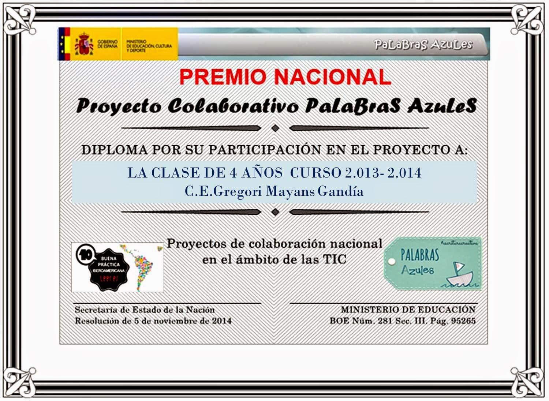 PREMIO NACIONAL DE EDUCACIÓN