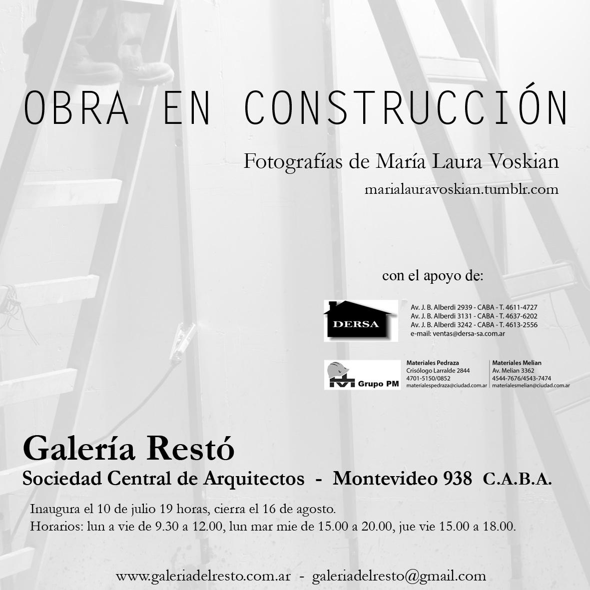 Rayo verde obra en construcci n fotograf as de mar a - Sociedad de arquitectos ...