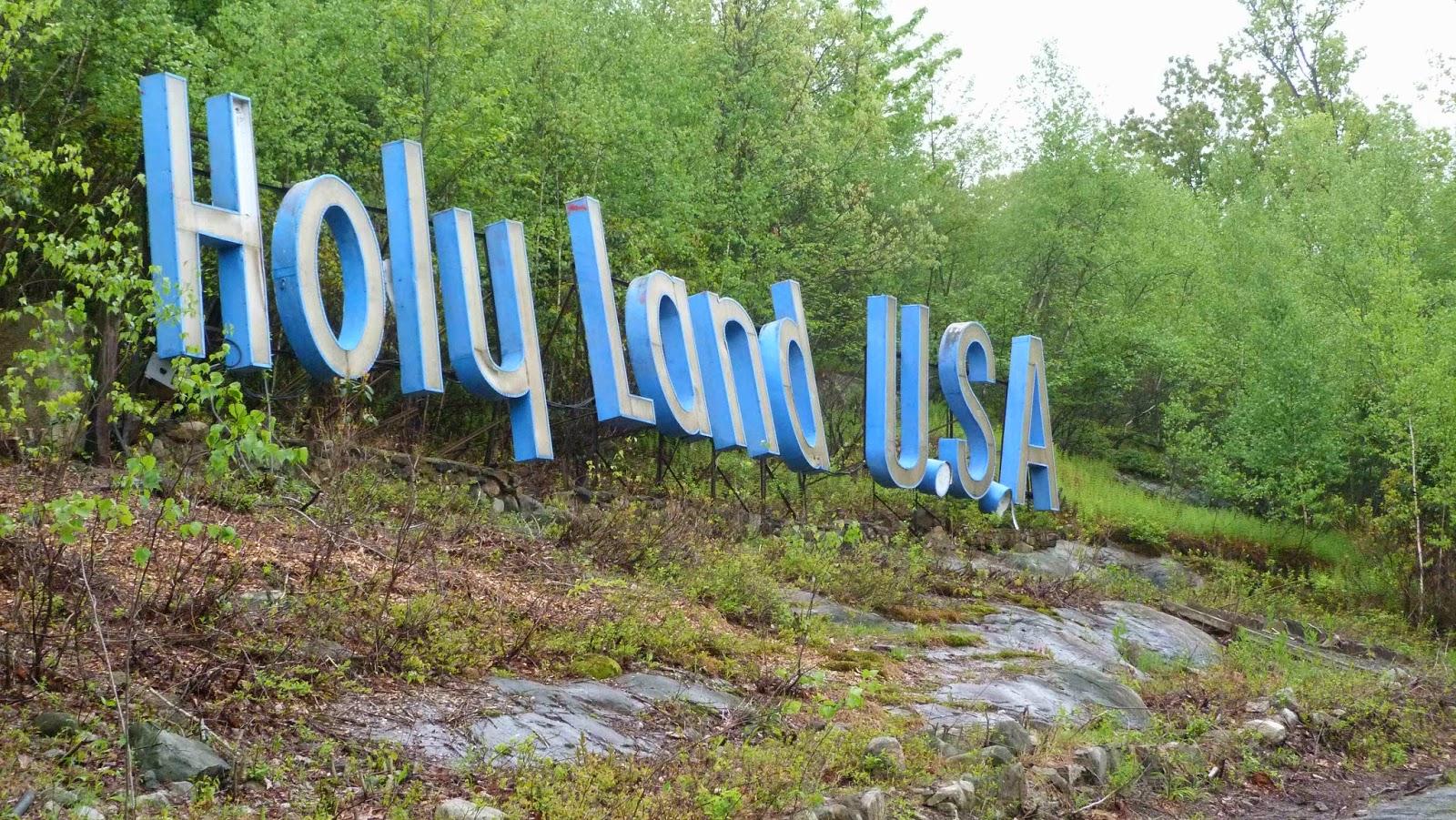 parchi abbandonati usa, holy land