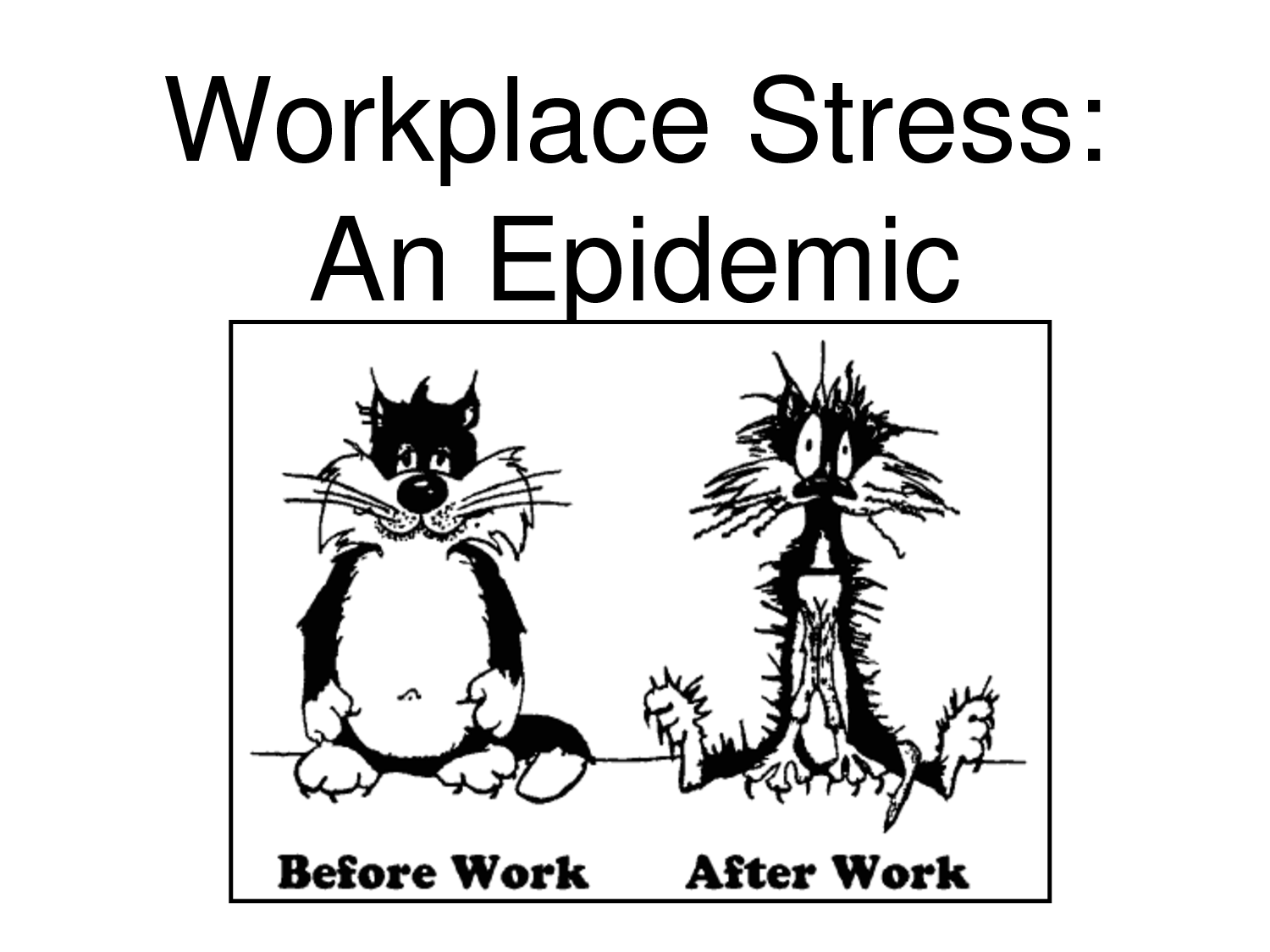 stress in workplace Get the facts about stress in the workplace and find out about a 100% effortless stress management technique in toronto.