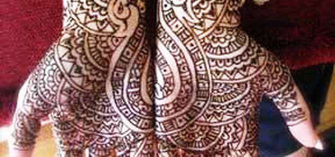 Mehndi Ideas Facebook : Karva chauth mehndi designs for facebook cover page