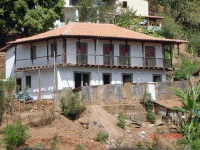 Casarão Domingos de Abreu Vieira, em Berilo, no Médio Jequitinhonha, ainda em reforma