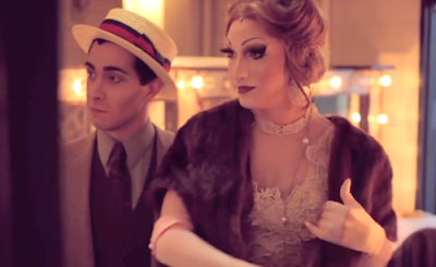 The wonderful Jinkx Monsoon (right)