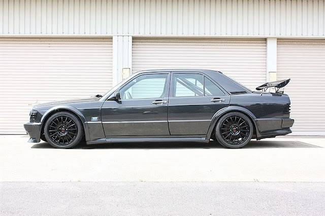 190e all black