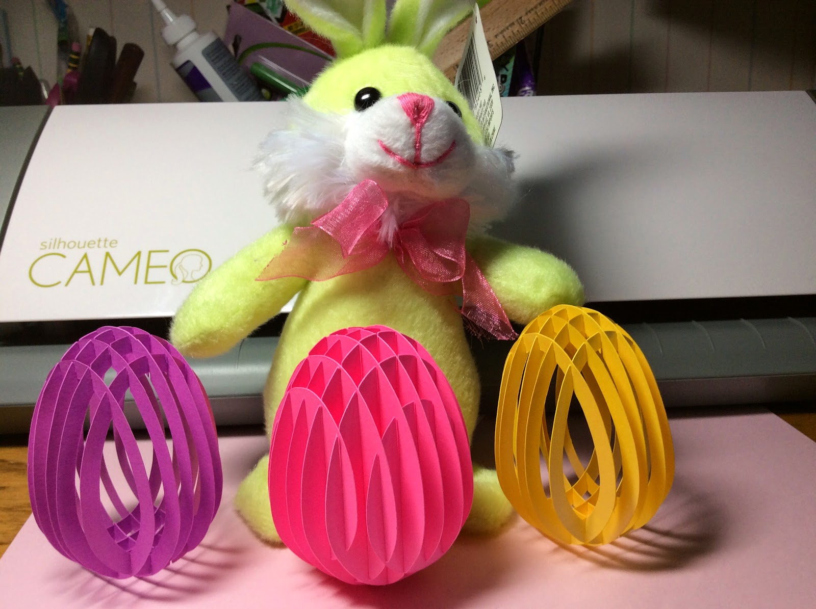 papercrafts and other fun things sliceform eggs for easter