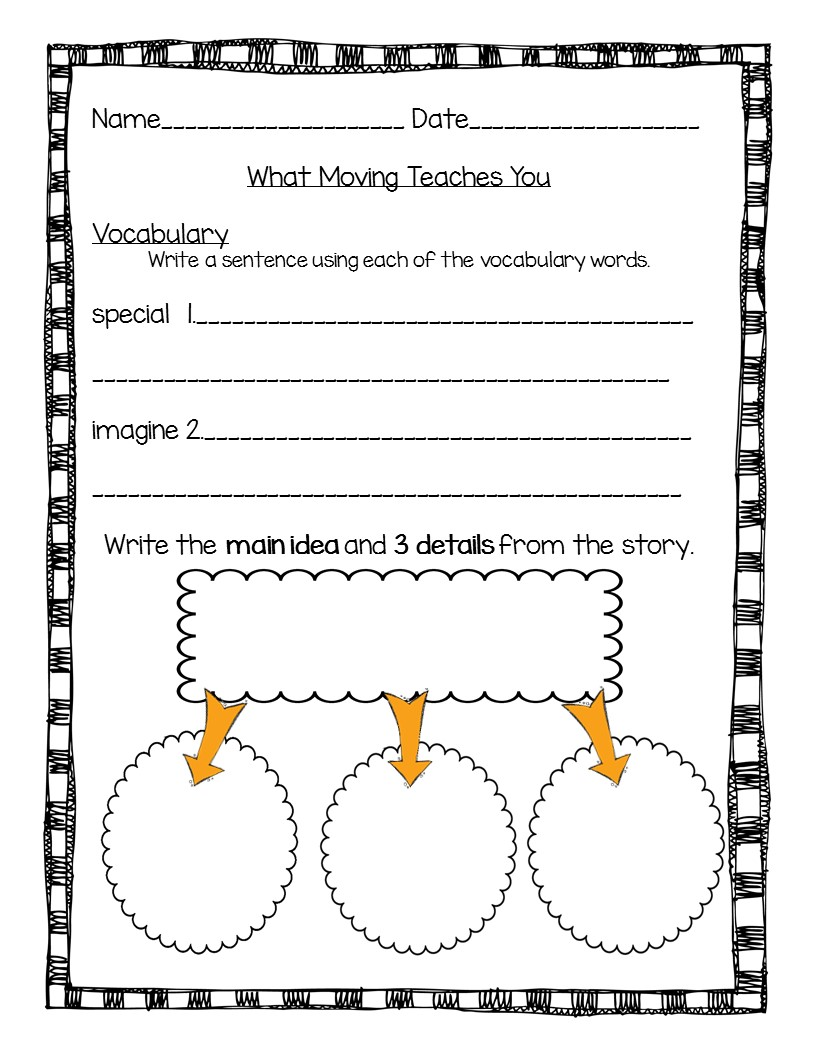 Free main idea worksheets for second grade