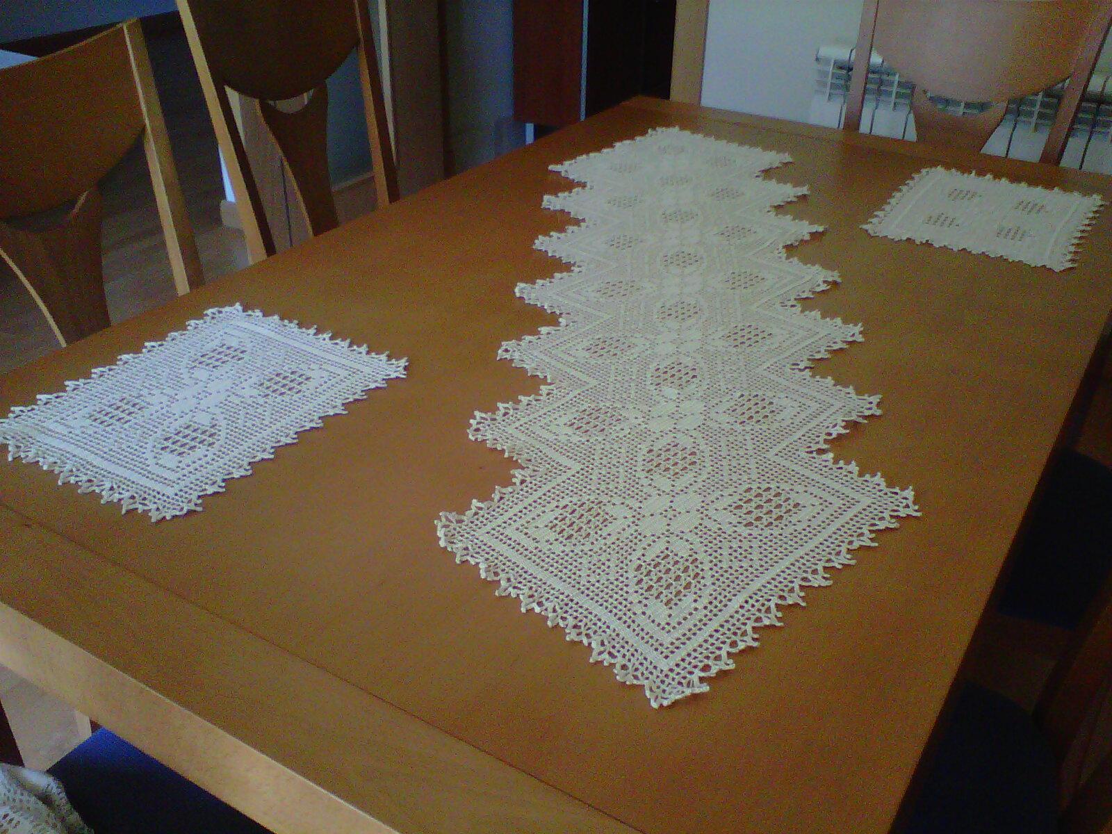 Martualidades labores cocina y otras cosas de la casa - Como hacer tapetes de ganchillo ...