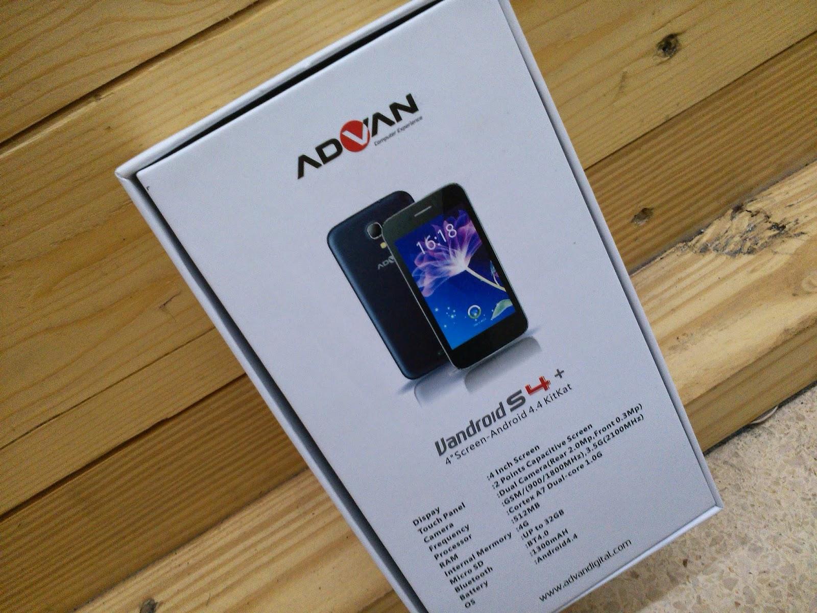 Advan Vandroid S5 Spesifikasi Dan Harga Terbaru