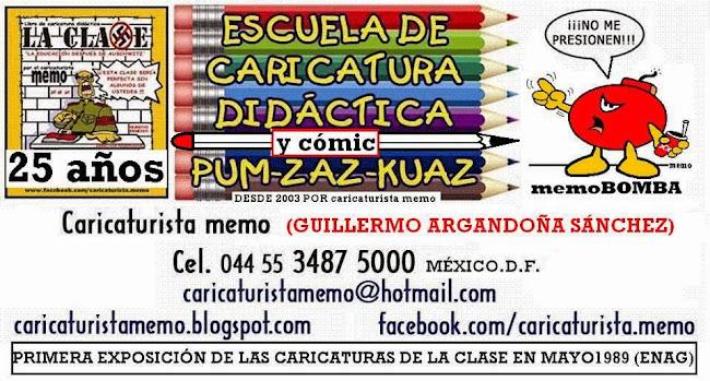 TALLERES DE HISTORIETA Y CARICATURA POR CARICATURISTAmemo