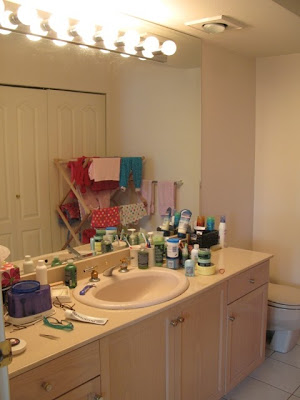 master bathroom before