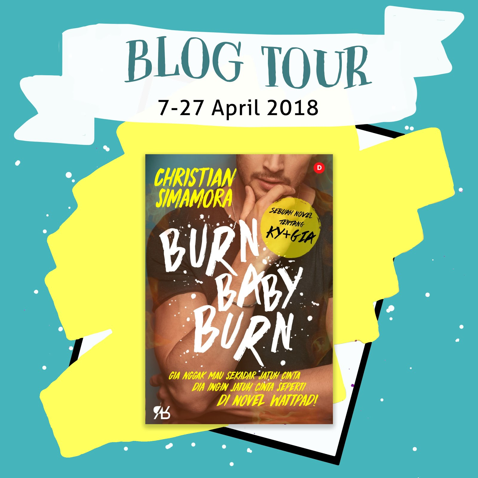 Blog Tour Burn Baby Burn