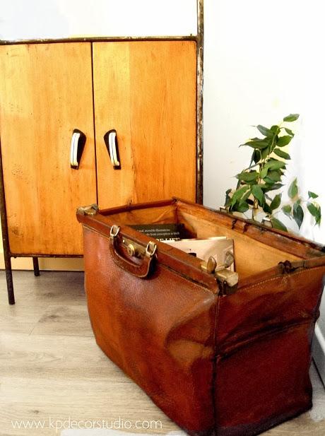 Comprar maletín antiguo de doctor