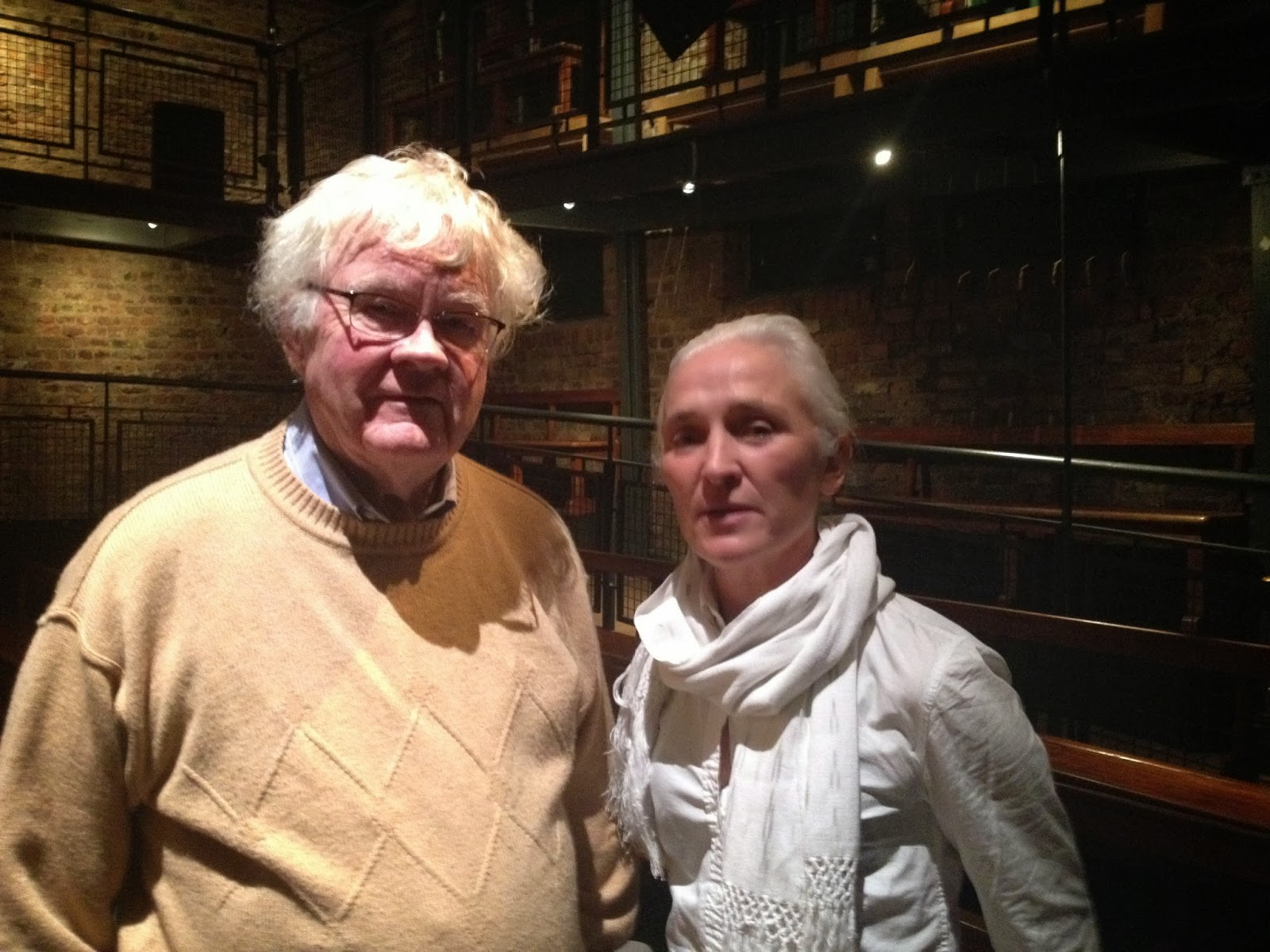 jim flannery olwen fouere at the boys school smock alley theatre