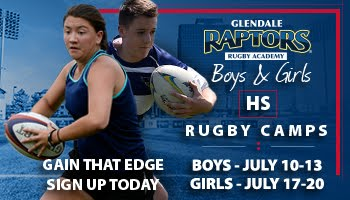 Sponsor: Glendale Rugby Camps