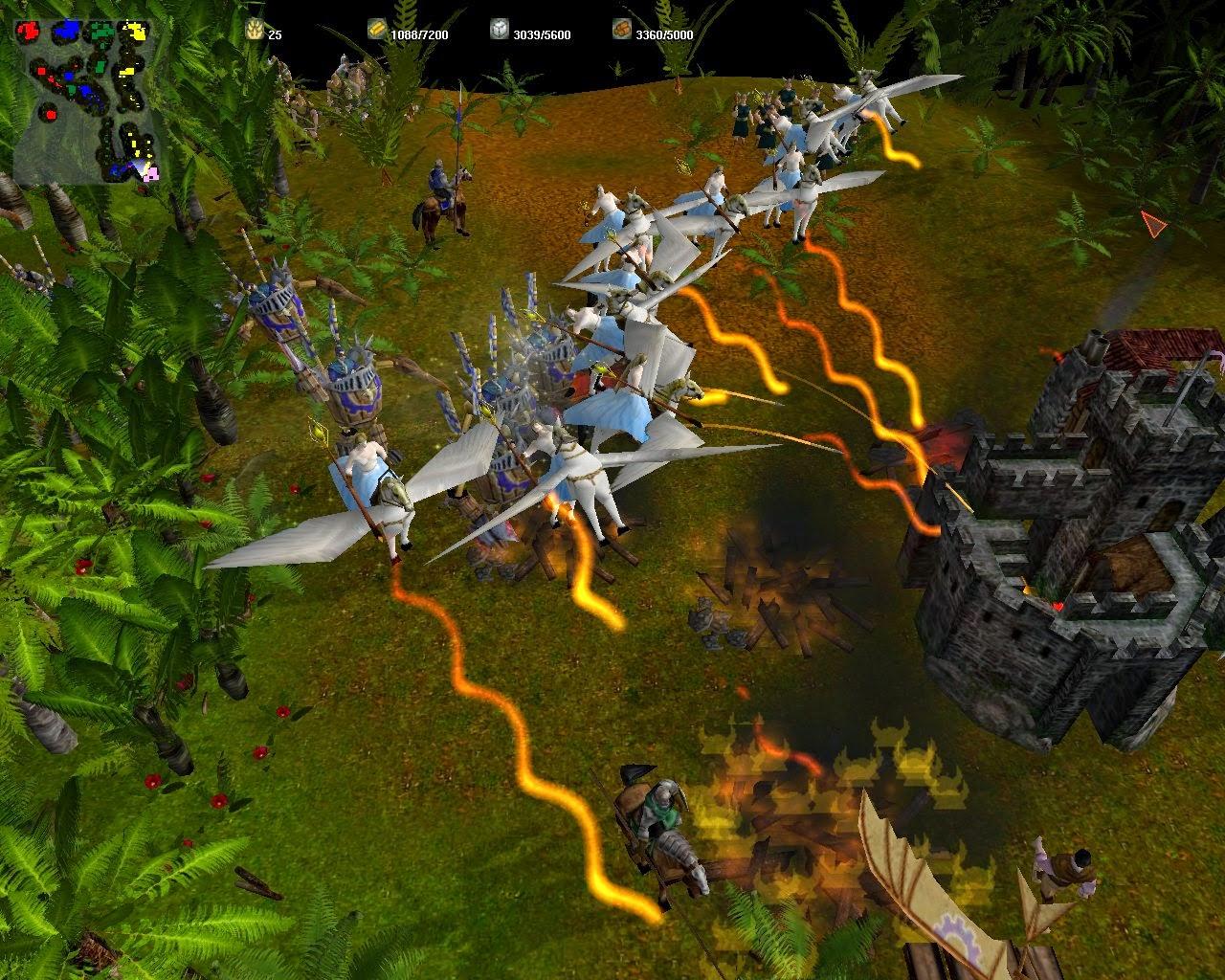 MegaGlest, otro juego de estrategia para Ubuntu, juego estrategia en español, juego como 0ad ubuntu