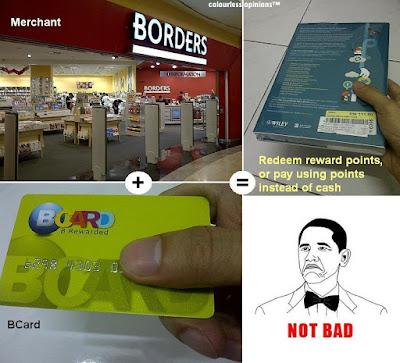 Bcard reward system