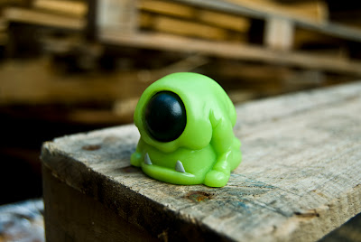 Dead Hand Toys - Green Tint Funguhs Resin Figure by Lysol