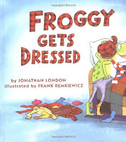 bookcover of Froggy Gets Dressed by Jonathan London