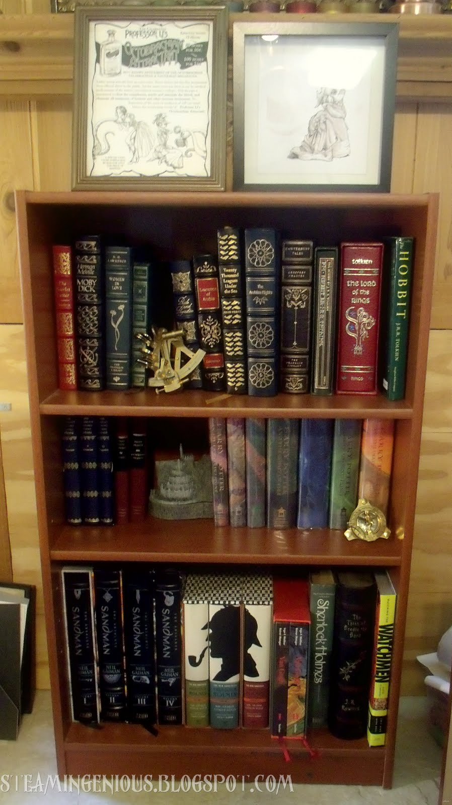 Steam Ingenious: Some Quick Steampunk Home Decor Projects