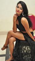 Nisha in Sleeveless Transparent Leg Split Ghagra and Deep Neck Choli Stunning Pics