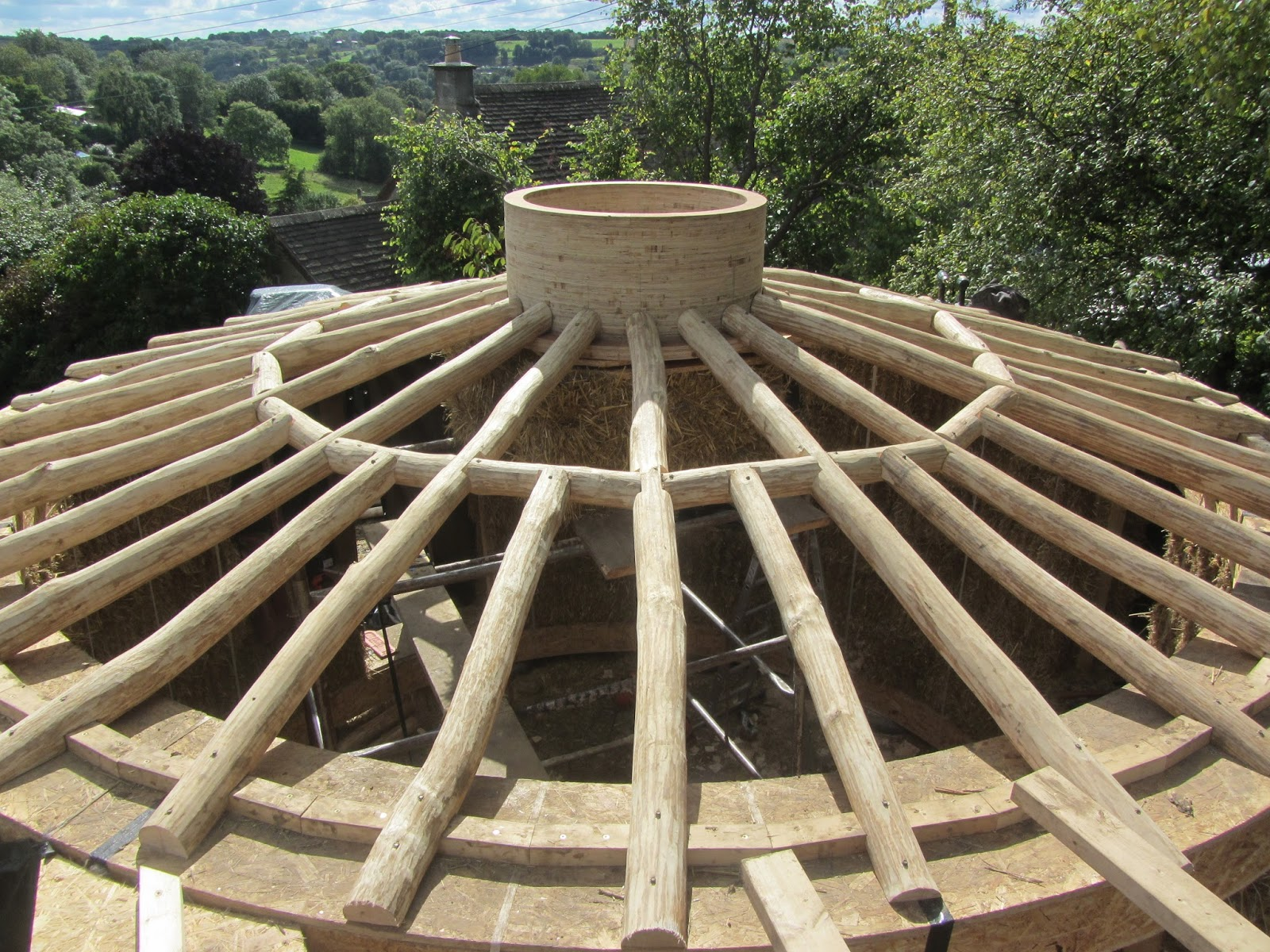 Ditchfield Crafts Roundwood Roofing