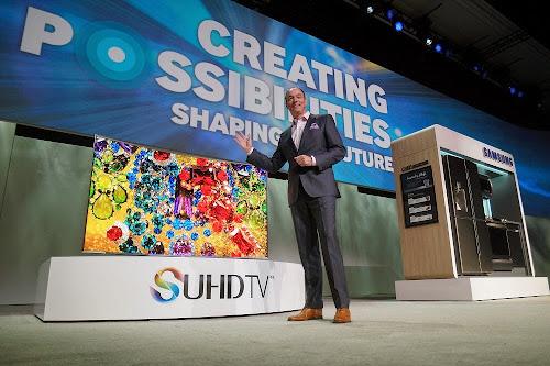 SAMSUNG TV SUHD CES 2015