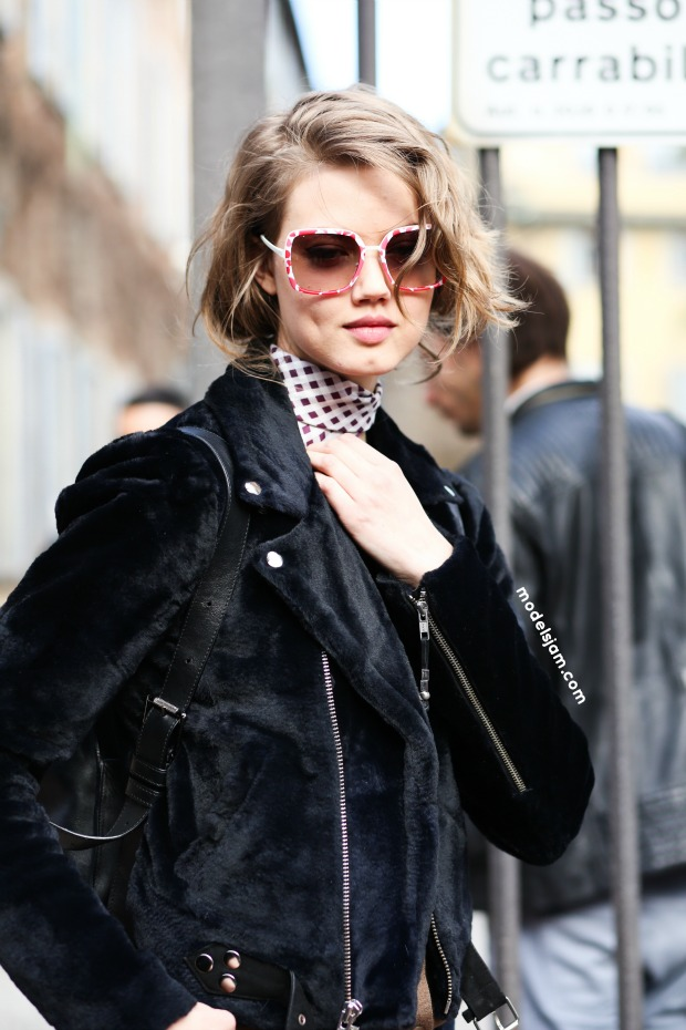 Lindsey Wixson, Milan, February 2015