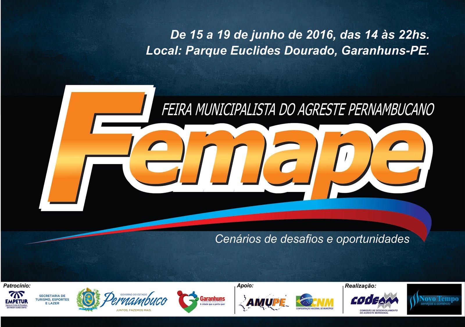 Feira Municipalista do Agreste Pernambucano - FEMAPE.
