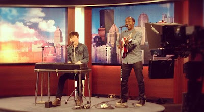Greyson Chance and Michael Warren on Pittsburgh Today Live TV Video