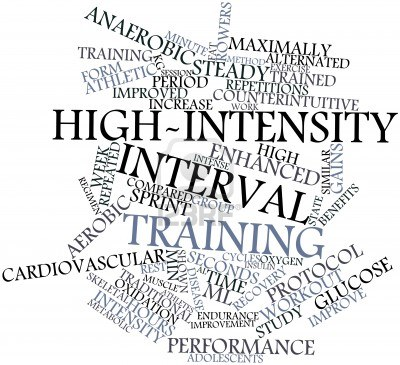 high-intensity interval training running treadmill