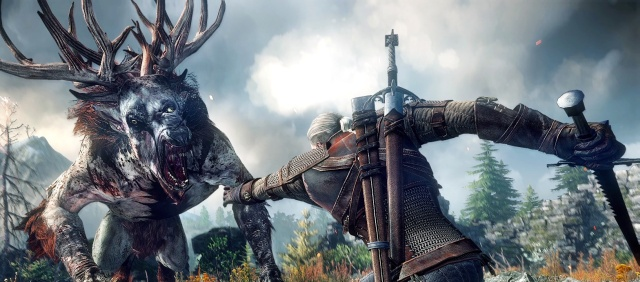 Indie Retro News: The Witcher 3: Wild Hunt : Massive open world map ...