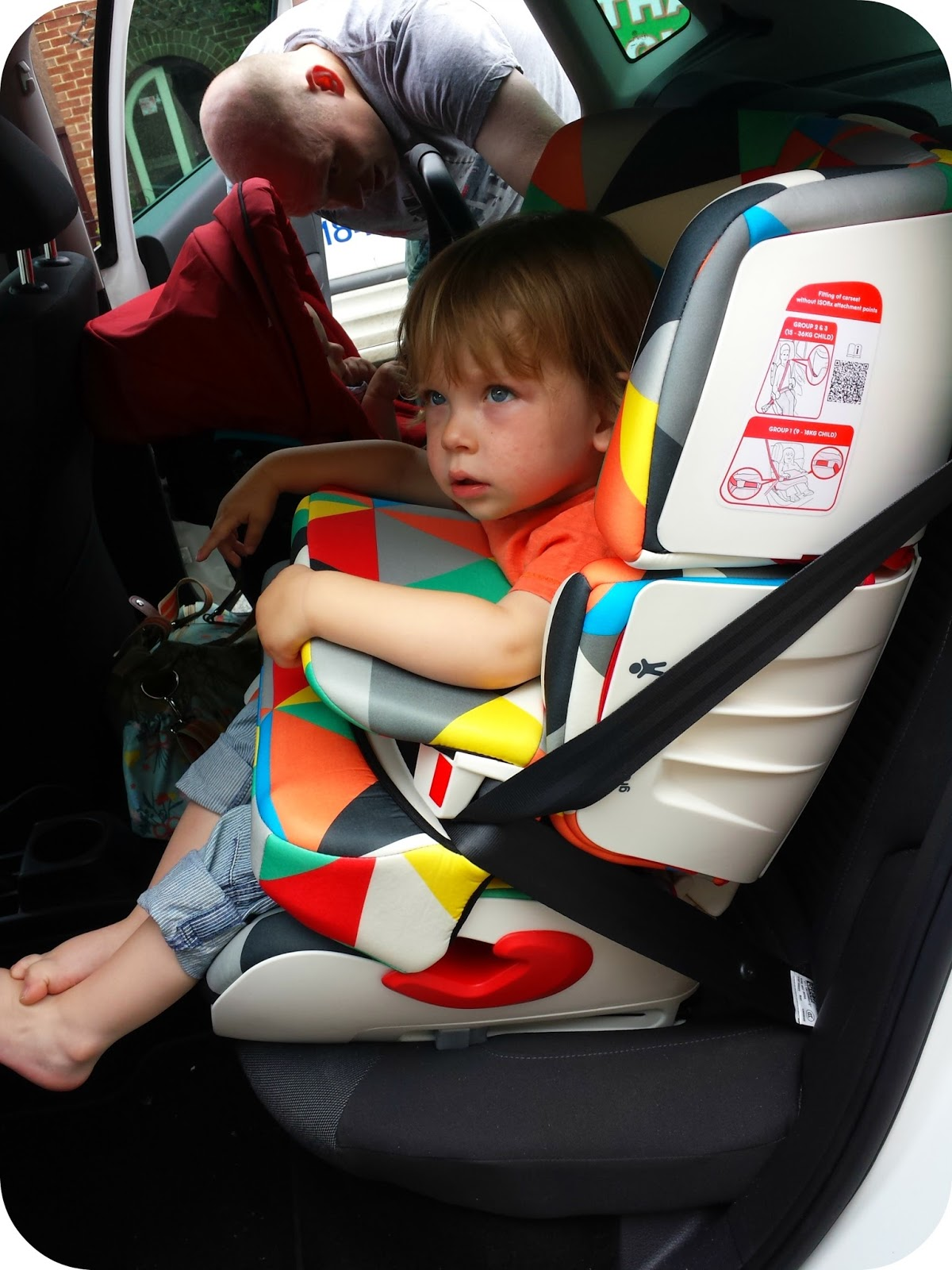 The Adventure of Parenthood: Cosatto Troop Car Seat Review