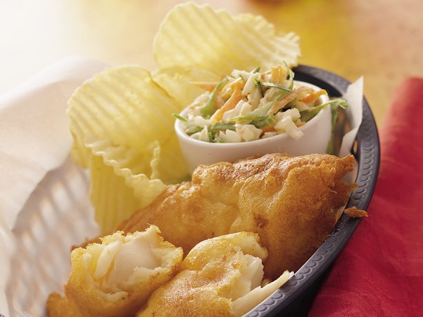 My favorite things beer battered fish for Bisquick fish batter