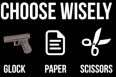 Glock Paper Scissors Shirt