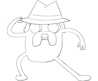 #2 Jake Coloring Page