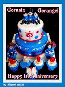 Gorasix and Gorangel 1st Anniversary