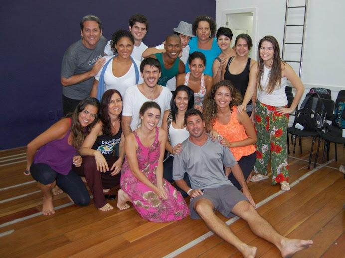 Alunos da CAP em curso no Rio de Janeiro