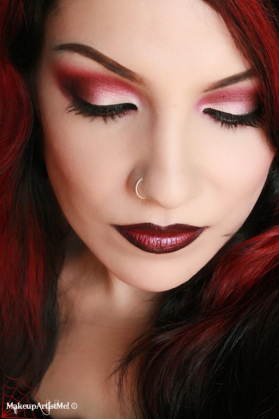 Make Up Artist Me Daring Red Eyeshadow Makeup Tutorial