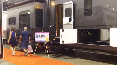 Second Day of the Detroit Fall RV Show