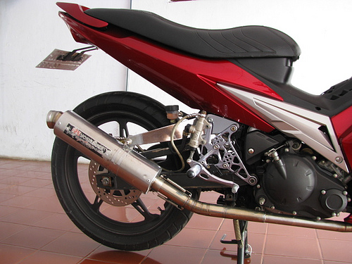 Modifikasi Sederhana Yamaha Jupiter Mx
