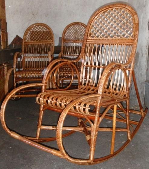 Как сплести кресло качалку из лозы своими руками