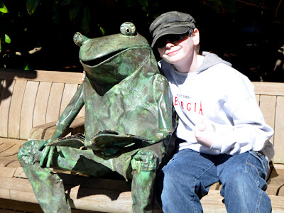 Frog, Kam, Atlanta Botanical Garden