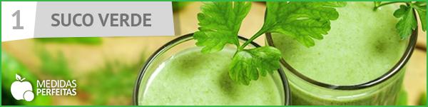 Suco Verde - Receitas de Sucos Detox