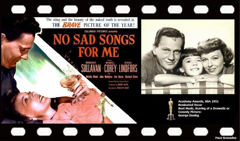 NO SAD SONGS FOR ME (1950) WEB SITE