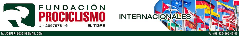 Fundación Prociclismo/Internacionales